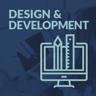 graphic design and website development